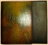 обложки для книг из кожи, кожаные обложки для книг, обложки для книг, безразмерные обложки