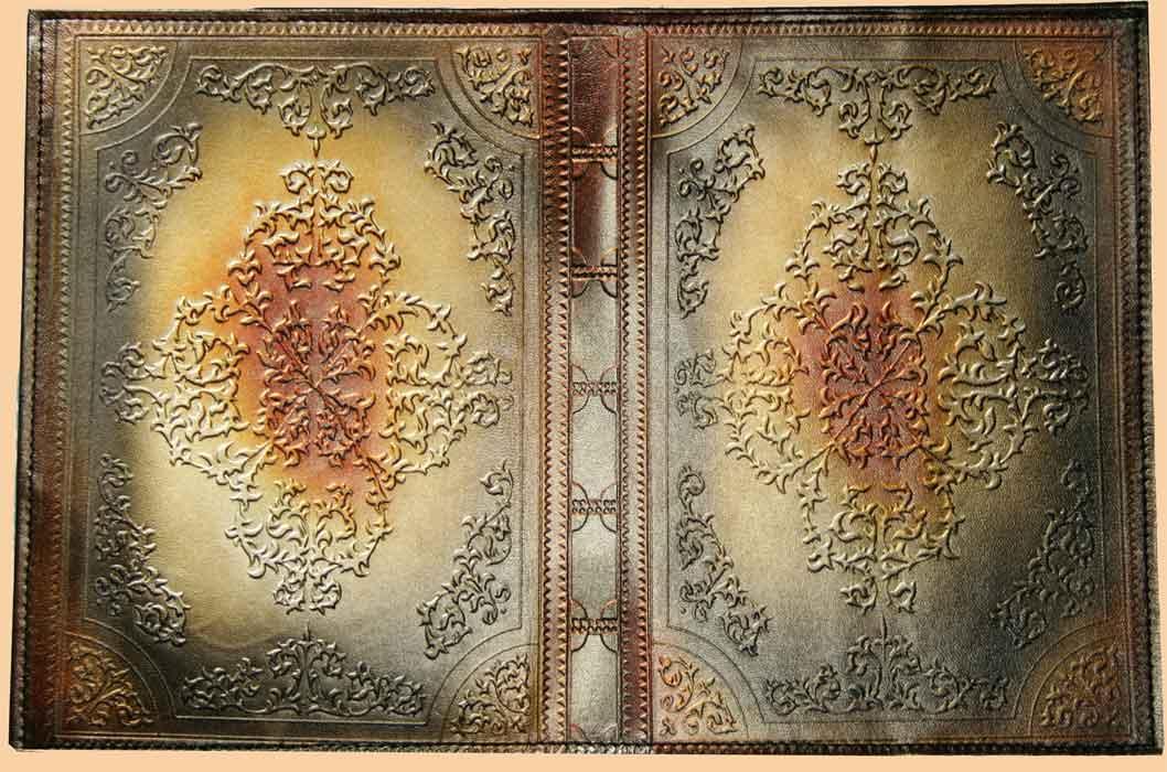 Обложка для книги кожа